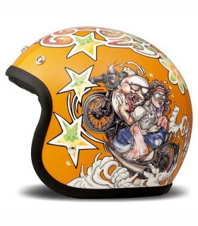 Casque DMD VINTAGE ORANGE