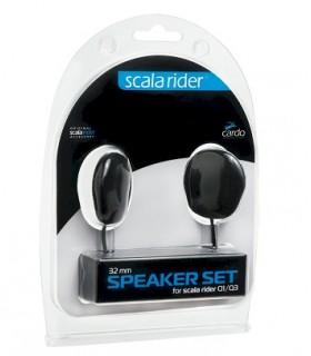 Set Ecouteurs CARDO SCALA RIDER 32 mm