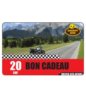 Bon Cadeau Moto Degriffbike CHF 20.-