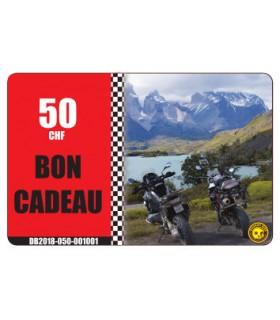 Bon Cadeau Moto Degriffbike CHF 50.-