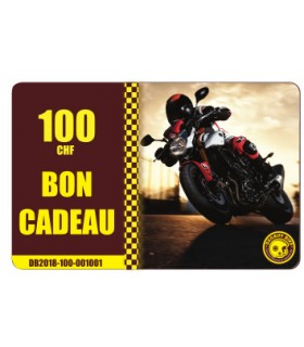 Bon Cadeau Moto Degriffbike CHF 100.-