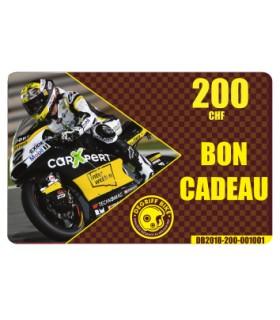 Bon Cadeau Moto Degriffbike CHF 200.-