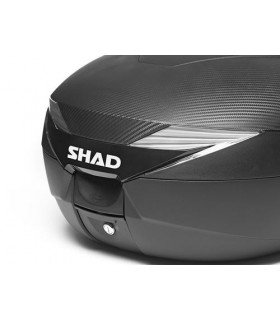 Top case SHAD 39L look carbone (platine incluse)