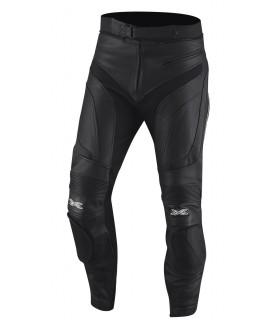 Pantalon cuir IXS RAUL noir