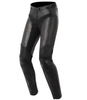 Pantalon cuir femme ALPINESTARS STELLA VIKA Noir