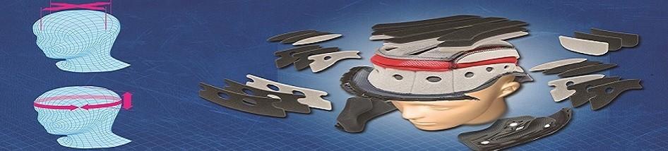 Intérieurs et joues pour votre casque moto à petit prix