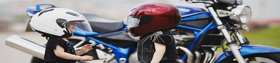 Casque moto et scooter pour enfants grand sécurité petit prix