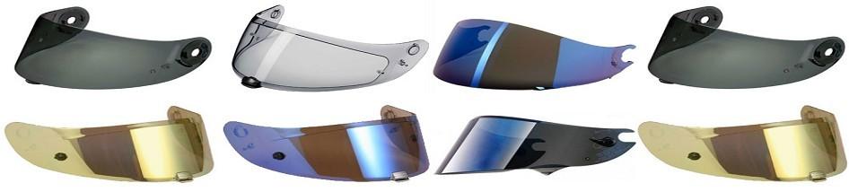 Degriffbike: grande variété de visières, écrans et de pinlocks