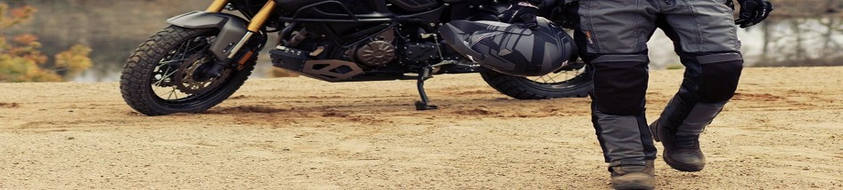 Pantalon moto textile hiver: imperméable et confortable