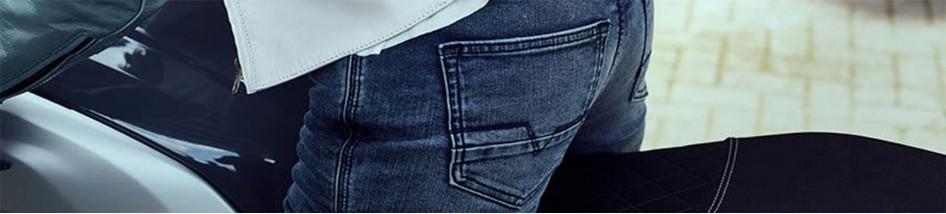 Jeans moto avec Kevlar pour votre sécurité à petit prix