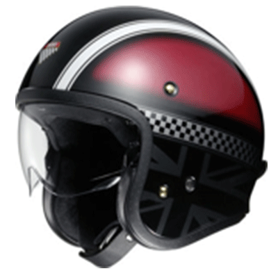 casque moto jet shoei